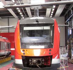 Abgasabsauganlage Bahn RailSwivelarm System