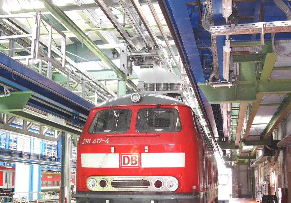 Abgasabsaugsystem Railway für Schienenfahrzeuge