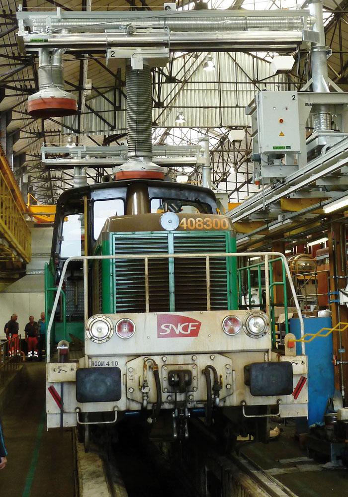 Beispiel Umbau Absauganlage für Dieselfahrzeuge